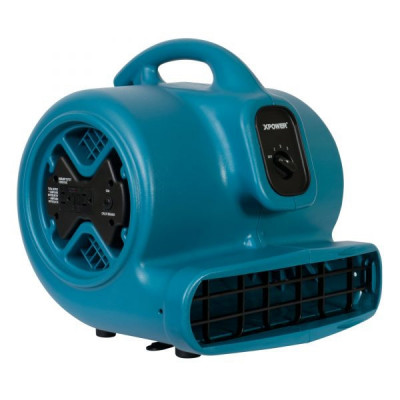 Xpower Flood Restoration & Wet Basement Drying Fan with Built-In Power Outlets