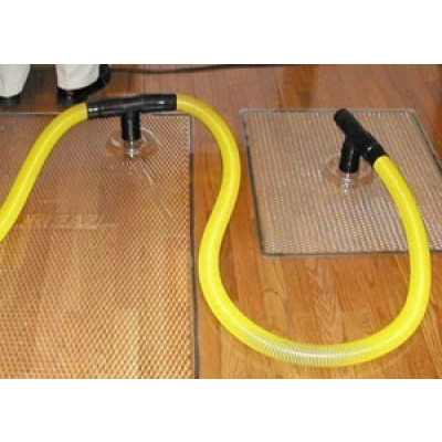 Water Damaged Wood Floor Drying Mats