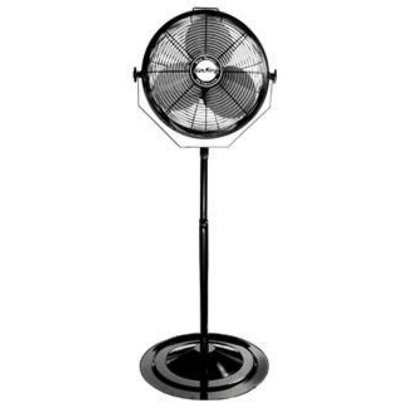 Air king air circulating stand fan for Air circulation fans home