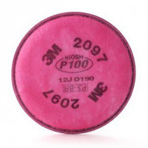 3M 2097 Particulate Filter with Organic Vapor Relief