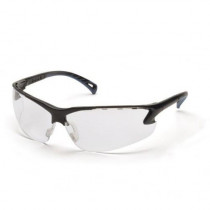 Venture 3™ Anti-Fog Safety Glasses, Black Frame