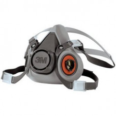 3M 6000 Half Face Reusable Respirator - Left Side